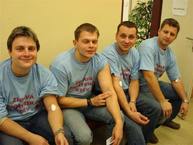 Darování krve 2008
